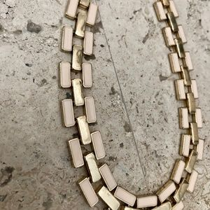 Forever 21 Jewelry - NWOT - FOREVER 21 Pink and Gold Chain Necklace